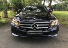 Bán Mercedes E250 sản xuất 2017, màu đen