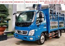 Xe tải Thaco OLLIN345 Euro 4 - động cơ Isuzu - tải trọng 2.2 tấn - thùng dài 4.35 mét - mới nhất