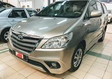 Toyota Innova 2.0G AT 2015, màu vàng, giá cạnh tranh