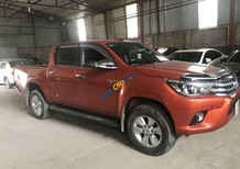 Bán xe Toyota Hilux năm 2016, màu đỏ, nhập khẩu số tự động, giá 695tr