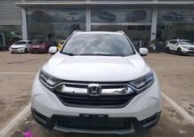 Honda Thanh Hóa, cần bán Honda CR-V 1.5L màu trắng, đời 2019, giá tốt nhất thị trường, LH 0962028368