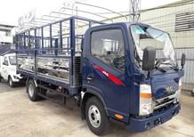 Xe tải JAc 1 tấn 9 ca bin vuông, màu xanh, thùng dài 4.4m đời 2019