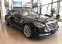 Bán Mercedes S450 Luxury 2019 chạy lướt 3000 km màu đen, nội thất be, giá cực rẻ