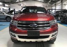 Cần bán xe Ford Everest Titanium 4x2 AT sản xuất 2019, màu đỏ, nhập khẩu