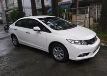 Cần bán lại xe Honda Civic T11/2015, màu trắng