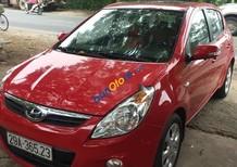 Bán ô tô Hyundai i20 năm sản xuất 2011, màu đỏ, nhập khẩu nguyên chiếc số tự động