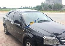 Xe Daewoo Lacetti năm sản xuất 2009, màu đen xe gia đình