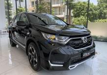 Bán Honda CR V 1.5L CVT sản xuất năm 2019, màu đen, nhập khẩu nguyên chiếc