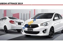 Bán Mitsubishi Attrage đời 2019, màu trắng, xe nhập