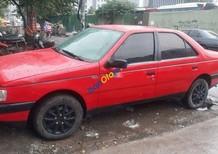 Bán xe Peugeot 405 sản xuất năm 1992, màu đỏ, xe nhập