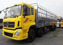 Bán xe tải 4 chân Dongfeng L315, màu vàng nhập khẩu, xe Dongfeng 4 chân