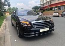 Chính chủ gửi bán xe Mercedes S450L Luxury 2019 màu đen, nội thất be vàng giá rẻ hơn gần 800 triệu