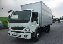 Xe tải thùng kín cửa hông Fuso Canter10.4R thùng dài 5m3 - trả góp