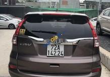 Bán Honda CR V sản xuất 2015, màu nâu, giá tốt xe nguyên bản