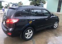 Cần bán lại xe Hyundai Santa Fe sản xuất năm 2009, màu đen số sàn