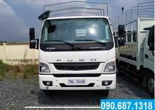 Giá xe tải Fuso 10.4R Nhật Bản tải trọng 5.7 tấn thùng dài 5m2 Long An 2021