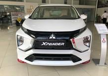 Mitsubishi Xpander số sàn màu trắng giao xe trước tết