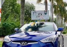 Bán Hyundai Veloster năm sản xuất 2011, màu xanh lam