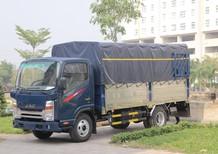 Xe tải Jac N350 3.49 tấn đầu vuông động cơ Isuzu, trả trước 100 triệu