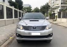 Cần bán xe Toyota Fortuner 2.4G (4x2), SX 2014, ĐK 2015, màu bạc