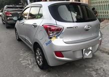 Bán Hyundai Grand i10 sản xuất năm 2015, màu bạc, xe nhập, 328 triệu