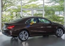 Cần bán gấp Mercedes CLA200 năm sản xuất 2017, màu nâu, xe nhập chính chủ
