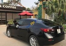 Bán Mazda 3 sản xuất 2015, màu đen chính chủ