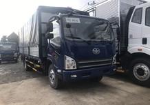 Xe tải Faw 7.3 tấn thùng mui bạt 6m3 máy Hyundai nhập 3 cục, khuyến mãi 10 triệu khi mua xe