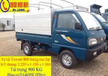 Xe tải Thaco Towner 800 mới 100% hỗ trợ trả góp 70% tại Đà Nẵng