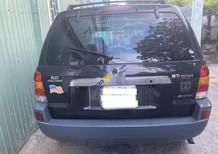 Xe Ford Escape sản xuất 2003, màu đen, xe nhập số sàn