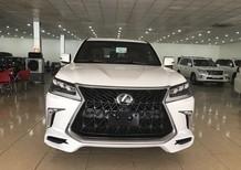 Bán Lexus LX570 Super Sport nhập Trung Đông, màu trắng, sản xuất năm 2020, xe giao ngay, giá tốt