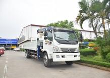 Xe tải Thaco Ollin 900B gắn cẩu Soosung 3 tấn 4 đốt tải trọng 6.4 tấn