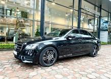 Xe lướt chính hãng - Mercedes E300 2020 màu đen, chạy 11.600km giá cực tốt