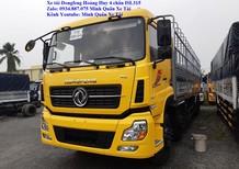 Bán xe tải Dongfeng 4 chân 17.9 tấn – xe tải Dongfeng Hoàng Huy 4 chân 17T9