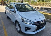 Cần bán Mitsubishi Attrage CVT 2020, màu trắng, có bán trả góp