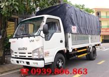 Xe tải Isuzu vm 3.49 tấn (3.5 tấn) thùng 4.3m, trả trước 100 triệu nhận xe