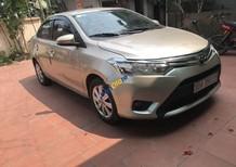 Cần bán Toyota Vios năm 2014, màu vàng, giá 318tr