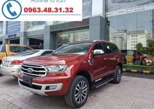 Giá xe Ford Everest Titanium 2.0L 4x2 Turbo AT tại Vĩnh Phúc, trả góp chỉ từ 300 triệu đồng