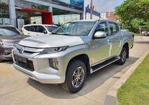 Cần bán xe Mitsubishi Triton GLX 4x2 AT 2020, màu bạc, nhập khẩu