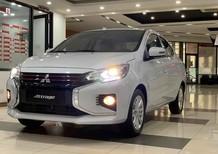 Cần bán Mitsubishi Attrage CVT 2020, màu trắng, nhập khẩu có bán trả góp