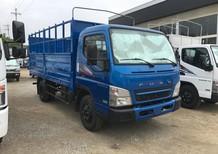 Thaco Cần Thơ, xe tải Mitsubishi Fuso Canter 6.5.E4 tải trọng 3,4 tấn thùng dài 4,35m, hỗ trợ trả góp