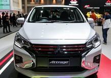 Gía xe Mitsubishi Attrage GLX sản xuất 2021, màu trắng, xe nhập
