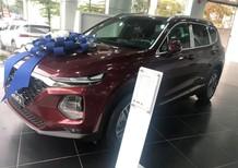 Cần bán Hyundai Santa Fe 2.2 AT dầu cao cấp 2020, màu đỏ