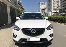 Gia đình cần bán Mazda CX5 model 2015, màu trắng, biển TPHCM