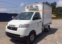 Xe tải Su đông lạnh 5 tạ, Suzuki 500kg, Suzuki thùng đông lạnh giá rẻ ở Bình Dương
