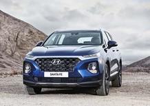 Giá xe Hyundai Santafe 2020 xăng - dầu, trả góp 85%, giao xe tại nhà
