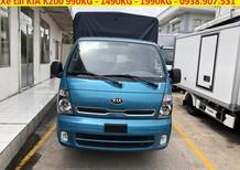 Cần bán xe Kia K200 mui bạt 3 bửng inox tải 1490kg 1950kg