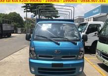 Thaco An Sương bán xe tải Kia K200 thùng bạt 5 bửng tải 1950kg
