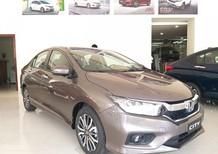 Honda Ôtô Thanh Hóa giao ngay Honda City 1.5 top, đời 2020 màu titan, giảm giá cực sốc