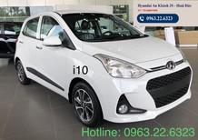 Bán ô tô Hyundai Grand i10 1.2 AT sản xuất 2020, màu trắng, giá tốt